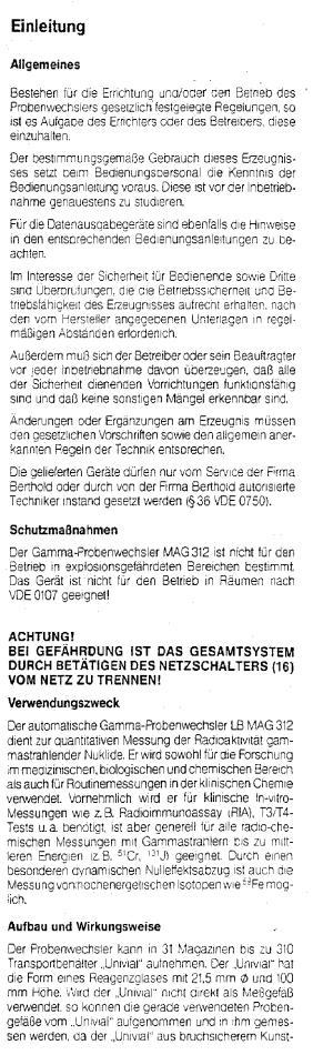 Berthold Mag 312 Gebraucht Mit Garantie Geprüfte Berthold Mag 312